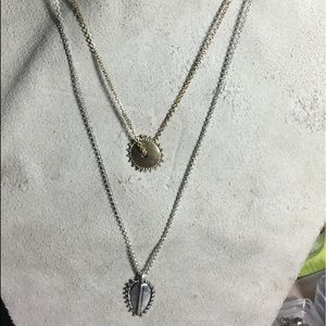 Lucky Brand Double Chain Necklace